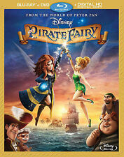 The Pirate Fairy (Blu-ray ONLY, No DVD, 2014)