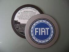 Magnético impuesto Portadisco se adapta a cualquier coche de Fiat 500 600 Punto Panda Bravo Brava Azul