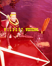 ROY ROGERS Scuba Diving Gear at Marineland PHOTO Singing Cowboy WESTERN Candid