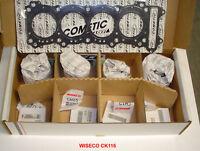 WISECO CK116 FORGED BIG BORE 640cc PISTON KIT SUZUKI GSXR-600 GSXR600 GSXR 600