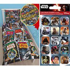 Star Wars ISSUE Conjunto De Funda Nórdica Individual Giratorio + GRATIS pequeño