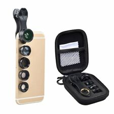 Cell Phone Camera Lens kit Universal Smartphone Mobile Zoom Clip 5 in 1 NEW USA