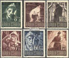 Oostenrijk 829-834 postfris 1947 Krijgsgevangenen