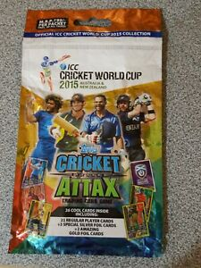 TOPPS Cricket Attax ICC Cricket World Cup 2015 Rare Multipack
