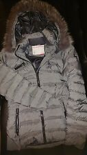 Authentic Spyder ladies jacket, with real Arctic Fox fur and duck down