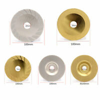 "4"" Coated Diamond Cutting Disc Flat Wheel Blade Grinding Glass Stone Tiles New"