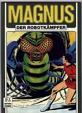 German Variant MAGNUS ROBOTFIGHTER #5 and #6! VARIANT COVER!