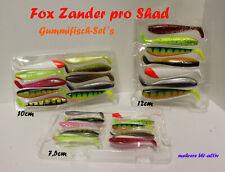 Fox Zander pro Shad Gummifisch Set / Köder / Kunstköder