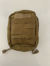 Light Molle Vertical Utility Pouch - coyote brown