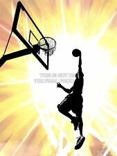 Painting Illustration Sport Basketball Juslam Dunk Hoop Canvas Print