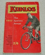 1957 Kuklos The Cyclists Annual. 172 pages