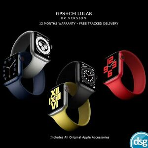Apple Watch Series 6 5 4 SE - GPS + Cellular Version - Assorted Colours S6 S5 S4