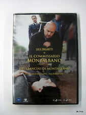 GLI ARANCINI DI MONTALBANO Dvd Video Rai Trade Luca Zingaretti Film Nuovo New