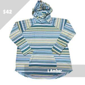 Lularoe L Gorgeous Striped Amber Hoodie