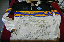 old Jersey Rugby Leeds tykes Autography players  .(Canada