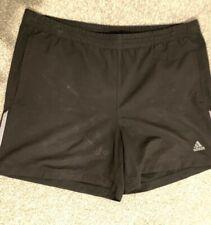 Mens ADIDAS Black & White Shorts Size L