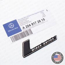 Tailgate Lid For AMG Black Series Logo Nameplate Badge Emblem Sport Decoration