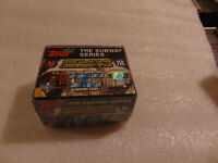 2000 TOPPS SERIES THE SUBWAY WORLD SERIES COMMEMORATIVE SET BOX SEALED