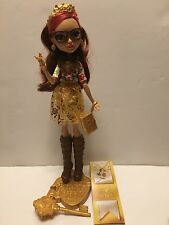 """Monster High 11"""" Doll EVER AFTER ROSABELLA BEAUTY BEAST FIRST CHAPTER SIGNATURE"""