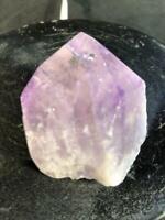 "2.5"" Amethyst Cluster Point Free Form Stone Natural Crystal Quartz Specimen Braz"