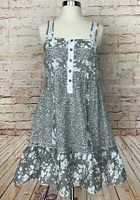Deca De Vous A Nous Dress Ruffle Hem Floral Sleeveless Women's Sz 1 US S