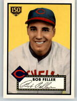 2019 Topps Series 2 Iconic Card #59 BOB FELLER Indians 150th Anniversary /150