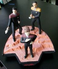 More details for u.s.s. voyager crew diorama star trek collectibles applause 1996 janeway tuvok