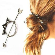 Boho Hair Pin Style Fashion Bohemian Grip Arrow Circle Ring Cute UK Seller