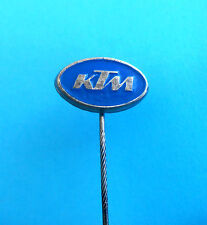 KTM motorcycle - old and rare pin badge