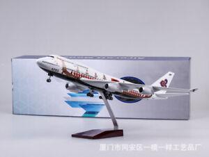 1/150 47cm Thai Airways Boeing 747-400 Passanger Plane Model Airplane Aircraft