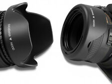 58MM Reversible Petal Flower Lens Hood for Sony, Nikon, Pentax, Sigma - UK STOCK