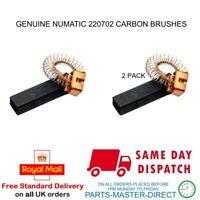 NUMATIC HENRY MOTOR CARBON BRUSH 220702 GENUINE PART - 2 PACK
