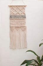 Handmade Macrame Wall Hanging Woven Art Macrame Tapestry Bohemian Home Decor