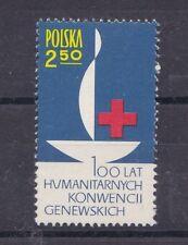 Polonia 1963 Centenario della Croce Rossa 1392 mnh