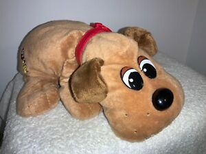 "2007 Pound Puppies 11"" Plush Red Collar Tag"