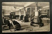 Vintage Goldfield Nevada to Ohio Hotel Lobby Real Picture Postcard Cover