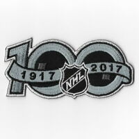 NHL 100th Anniversary Iron on Patches Emblem Patch 2017 National Hockey League