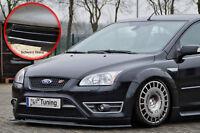 Spoilerschwert Frontspoiler ABS Ford Focus ST MK2 04-07 mit ABE schwarz glänzend