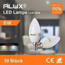 10er 6W E14 LED Kerzenlampe Licht Leuchtmittel Kerzen Birne Warmweiß/Kaltweiß