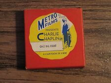 Vintage METRO FILMS 8mm Film CHARLIE CHAPLIN CH-2 Big Fight Cartoon ASCO