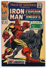 Tales of Suspense #95 VF/NM 9.0 Iron Man vs Grey Gargolye Captain America Comic