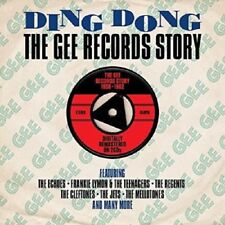 Ding Dong-The Gee Records Story 2-CD NEW SEALED Frankie Lymon & The Teenagers+