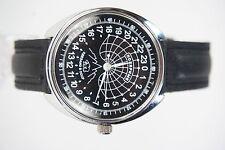 Mechanical watch RAKETA POLAR BEAR 24-HOUR.Case 39mm New. Black dial