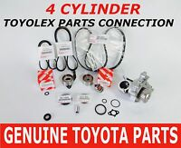 NEW TOYOTA COMPLETE OEM TIMING BELT KIT W/WATER PUMP 2.0 2.2 CAMRY RAV4 14 PCS
