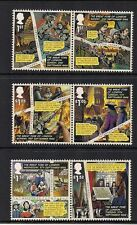 2016 GB QEII THE GREAT FIRE OF LONDON COMMEMORATIVE STAMP PAIRS MNH