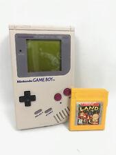 Nintendo Game Boy DMG-01 Handheld System Japan WORKING w/ Donkey Kong Land Game