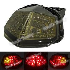 Tail Turn Signals Integrated Light Smoke For 2008-2012 KAWASAKI Ninja EX 250R US