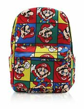 Finex Mario Brothers Canvas Backpack with Laptop storage compartment for School