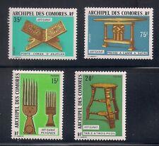 Comoro Is.  1974  Sc # 118-21   MLH  OG   (50882)