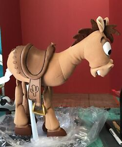 Disney Pixar Toy Story 3 Talking Bullseye Horse Thinkway Plush 16 Inch